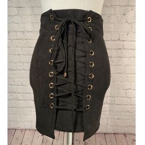 Sabo lace up Skirt S